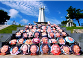 Merry Umbrella Project in Okinawa